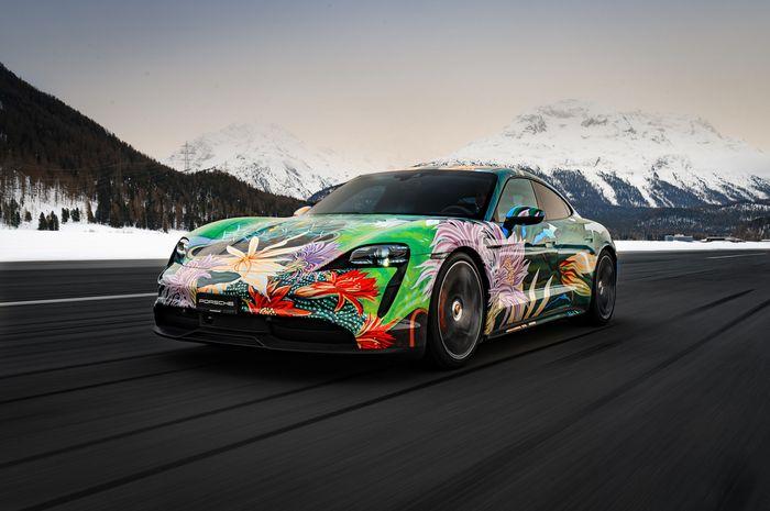 Porsche Taycan 4S hasil karya Richard Phillips