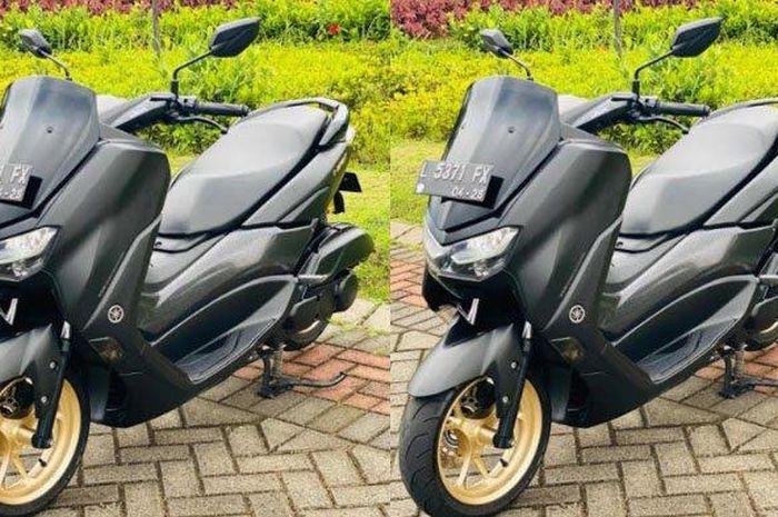 Yamaha All New NMAX milik Sayed Momin Hashemi.