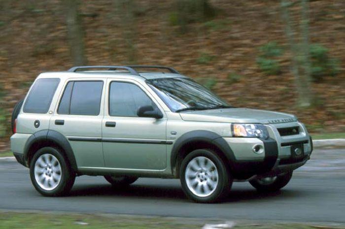 Ilustrasi Land Rover Freelander