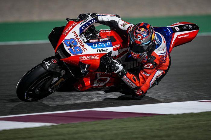 Pembalap tim Pramac Ducati, Johann Zarco