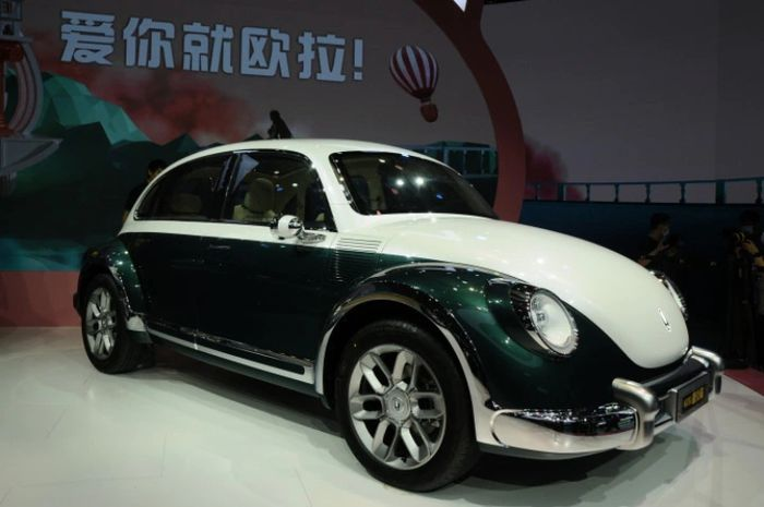 Ora Punk Cat yang hadir sebagai kembaran Volkswagen Beetle