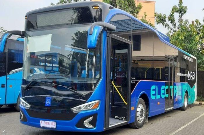 Bus Listrik PT MAB