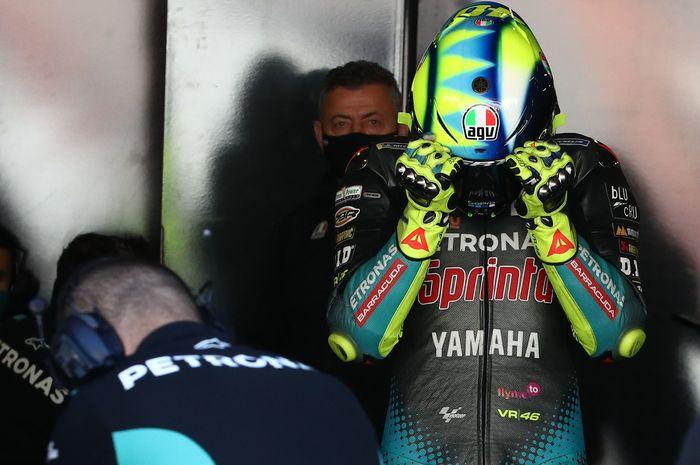 Valentino Rossi masih kesulitan di empat seri awal MotoGP 2021