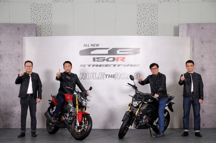 All New Honda CB150R StreetFire dibanderol mulai dari Rp 29.700.000