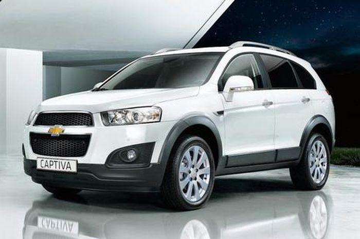 Ilustrasi. Chevrolet Captiva 2014