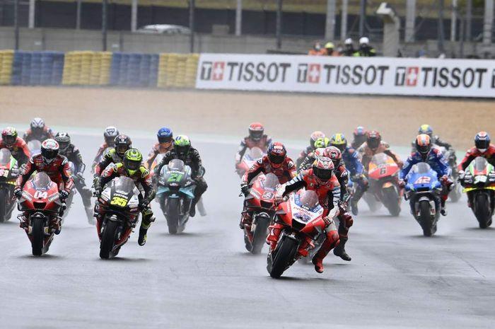 MotoGP Prancis 2021 bakal berlangsung dalam kondisi basah