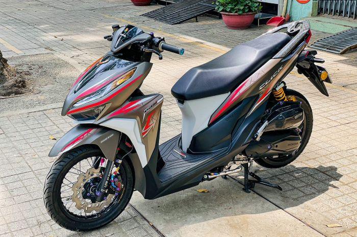 Modifikasi keren Honda Vario 150