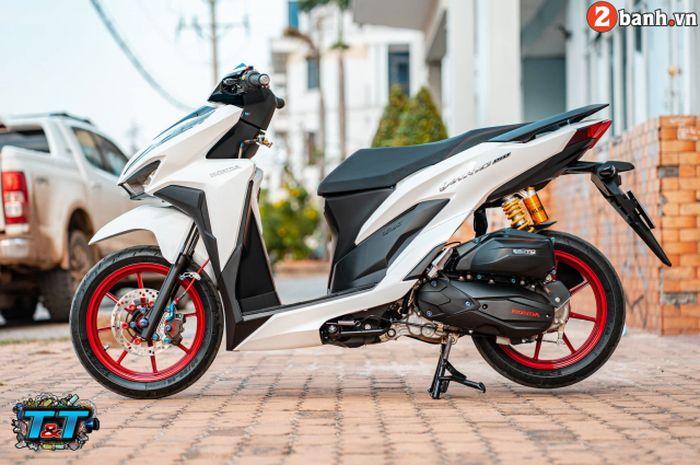 Modifikasi elegan Honda Vario 150
