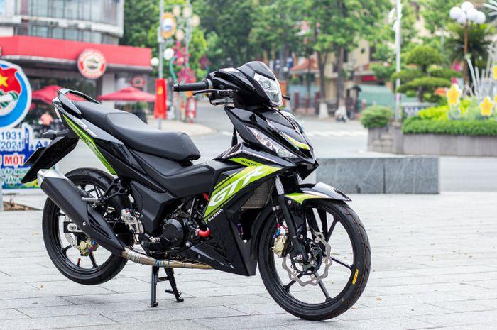Modifikasi simpel Honda Supra GTR 150