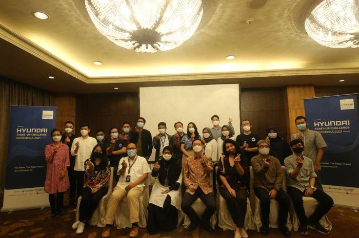 Hyundai Start-up Challenge Indonesia 2021 merupakan program ke-2 setelah tahun lalu Hyundai sukses menyelenggarakan gelaran serupa