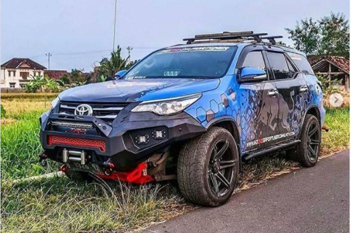 Modifikasi Toyota Fortuner tampil beda, pamer tongkrongan kekar gaya ALTO