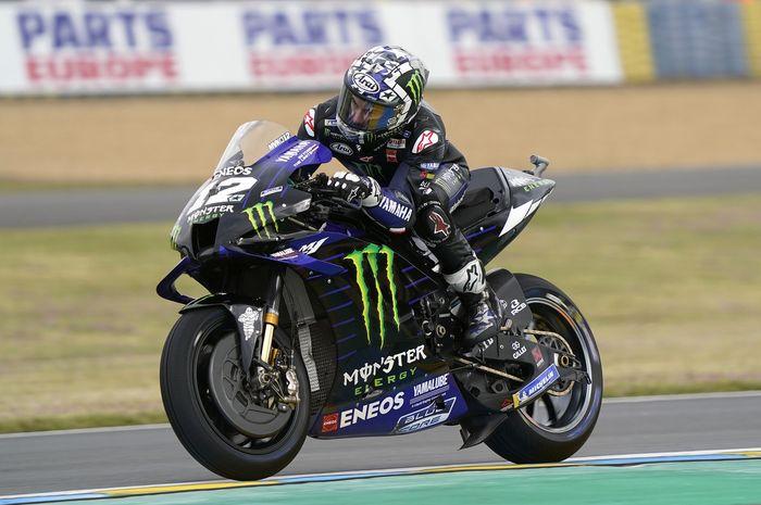 Maverick Vinales bawa Yamaha unggul pada FP1 MotoGP Italia (28/5)