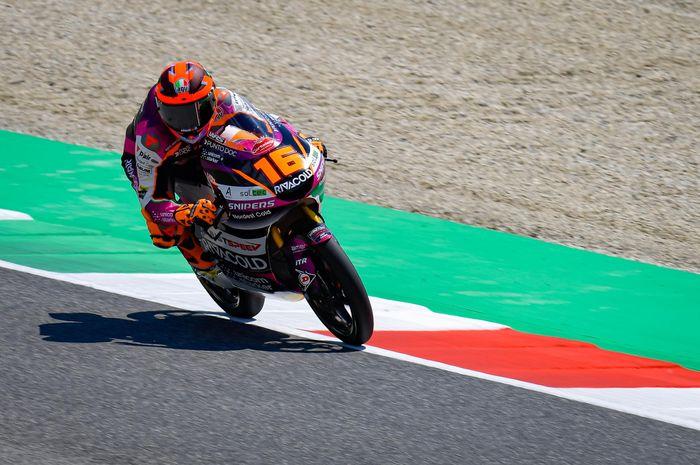 Andrea Migno (Rivacold Snipers Team) bikin rekor lap time baru di Moto3 Italia.