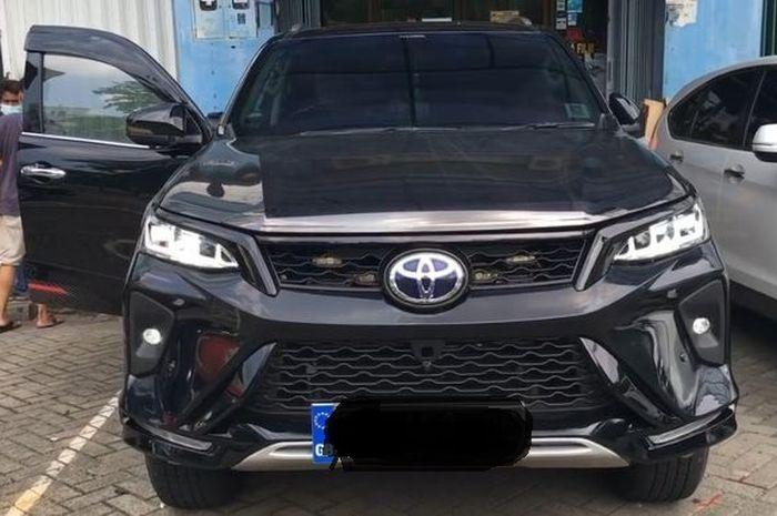 Toyota Fortuner 2020 upgrade body kit ala Legender di Automania