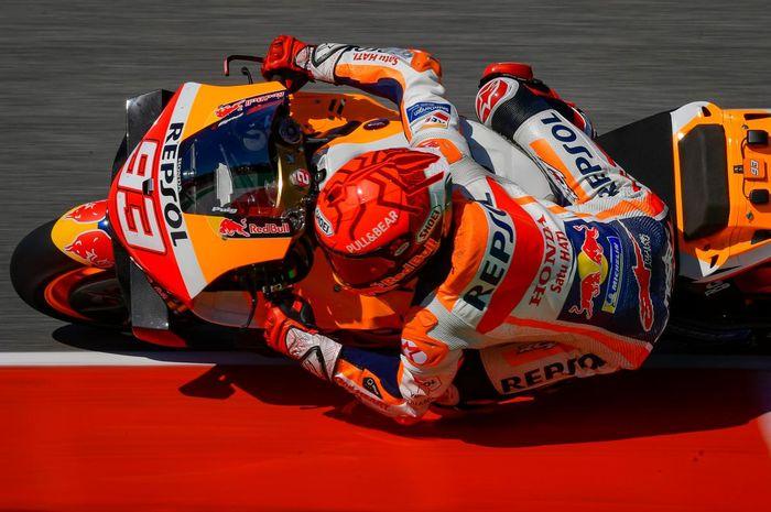 Pembalap tim Respol Honda, Marc Marquez.