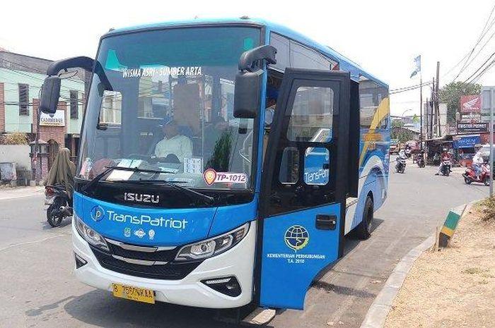 Bus TransPatriot koridor 1 beroperasi kembali mulai Sealsa (01/06/2021).