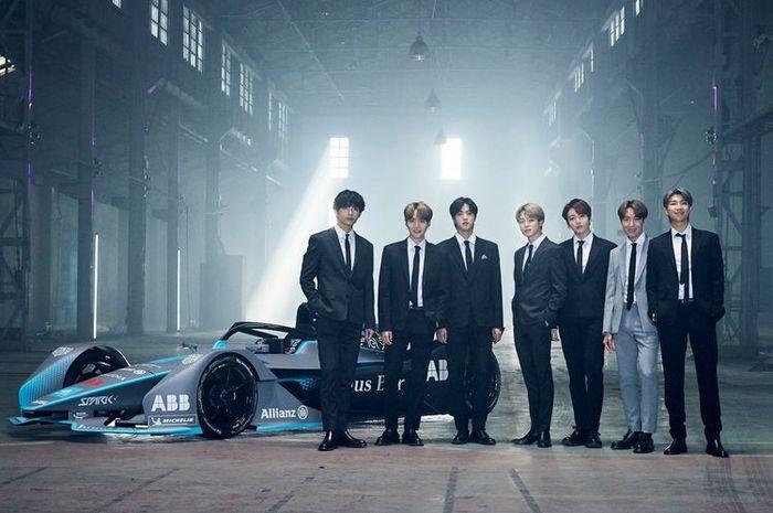 Boy Band asal Korea Selatan, BTS juga menjadi Brand Ambassador Formula E.