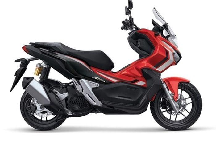 Honda ADV 150 Warna Advance Red tipe ABS