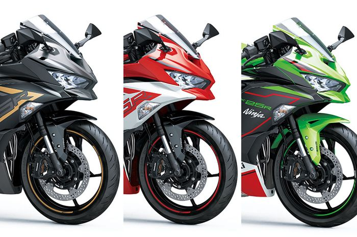 Pilihan warna Kawasaki Ninja ZX-25R 2022