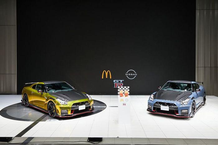 Nissan dan McDonald's hadirkan GT-R Nismo sebagai hadiah