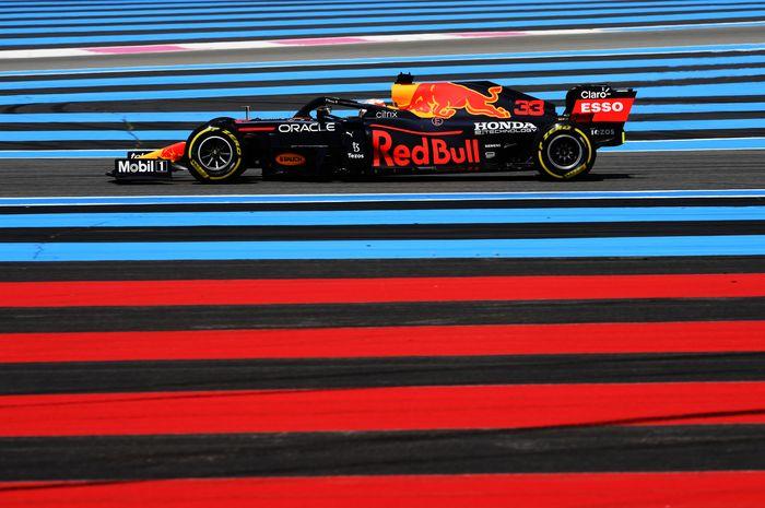 Max Verstappen kuasai FP2 F1 Prancis 2021