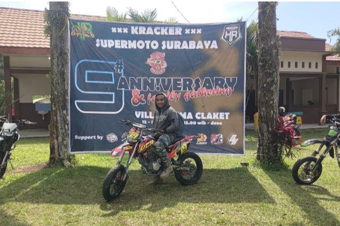 Komunitas Kawasaki D-Tracker (Kracker) rayakan anniversary ke-9
