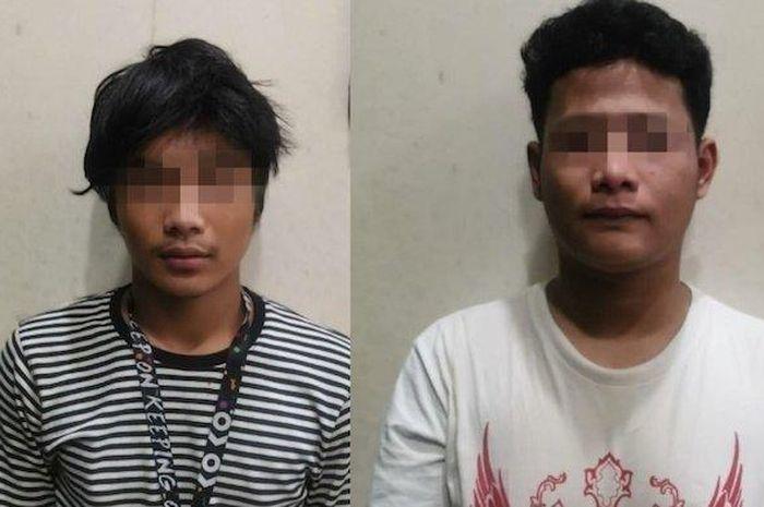 Dua pemuda aniaya dan rampas motor dengan menuduh korban jadi cepu polisi diringkus.