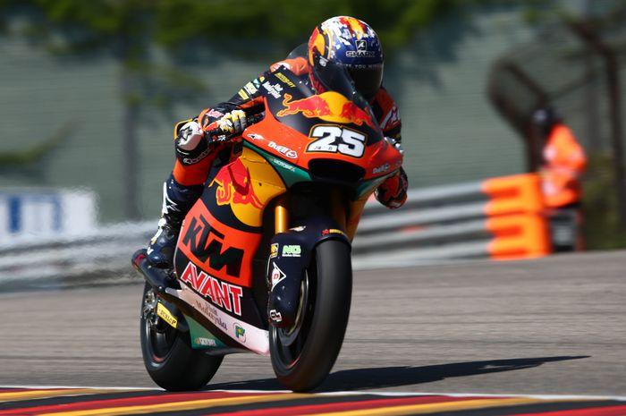 Raul Fernandez bikin rekor lap time baru di Moto2 Jerman.