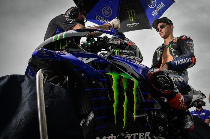 Fabio Quartararo masih belum puas dengan hasil di MotoGP Jerman 2021.