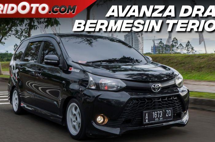 Modifikasi Toyota Avanza berwajah Veloz, bermesin Terios