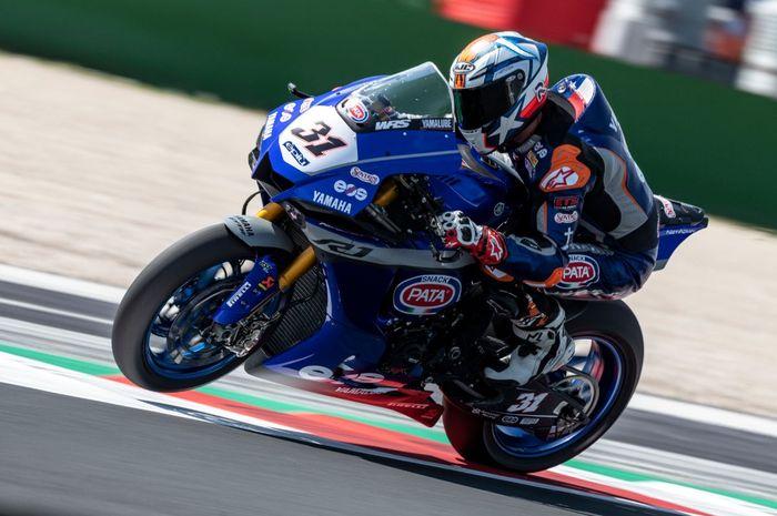 Gantikan Franco Morbidelli di MotoGP Belanda 2021, intip prestasi Garret Gerloff di WorldSBK 2021 hingga saat ini.