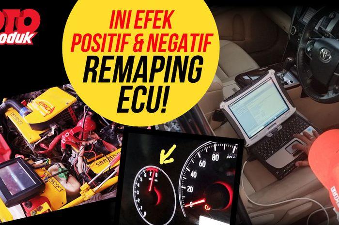 Kupas tuntas plus minus remap ECU di kanal Youtube Oto Produk