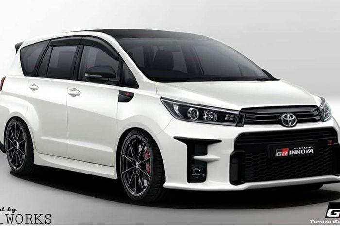 Toyota Kijang Innova dibuatkan digimods konsep GR (Gazoo Racing)