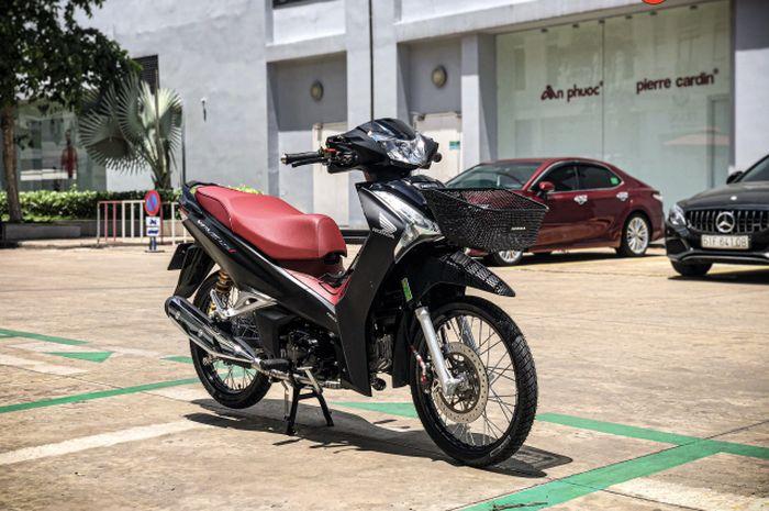 Modifikasi Honda Wave 125i alias Supra X 125