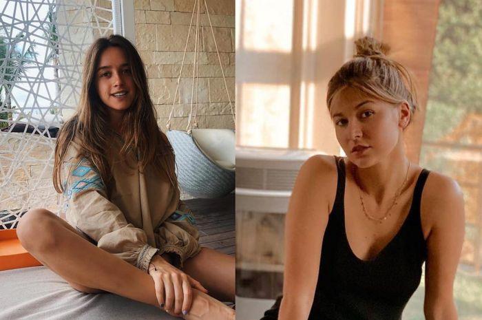 Alexandra Lopez (Kiri) kekasih Alex Rins dan Alejandra Lopez Garro (kanan) kekasih Joan Mir