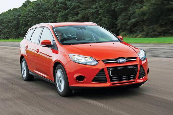 Ilustrasi Ford Focus generasi ketiga