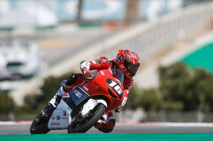 Mario Suryo Aji mengaku sulit untuk balapan di sirkuit Portimao.