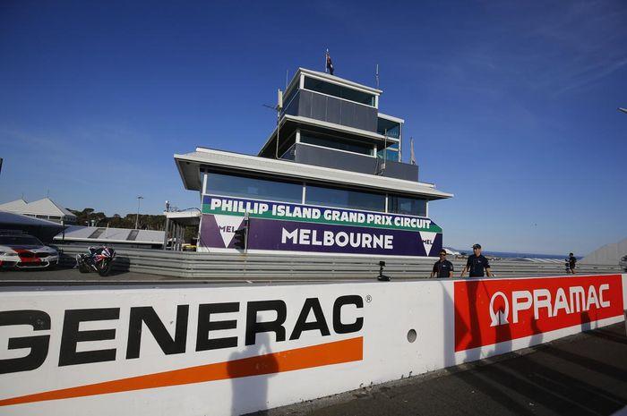 MotoGP Australia 2021 batal dipentas, sirkuit Phillip Island kembali tak menggelar balap MotoGP dua tahun berturut