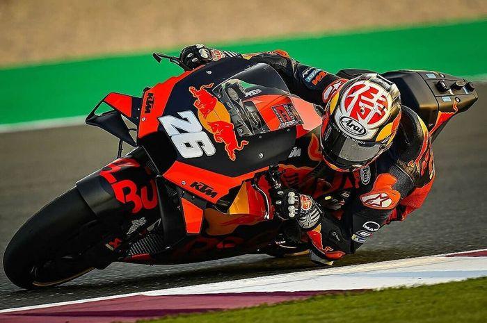 Motor KTM RC16 besutan Dani Pedrosa punya bodi yang lebih ramping, lebih cocok dengan bentuk badannya yang mungil.