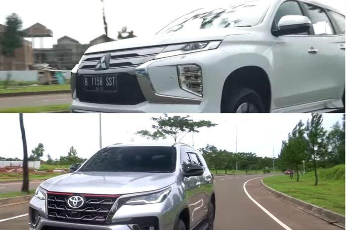 Perbandingan harga Toyota Fortuner TRD Sportivo Vs Mitsubishi Pajero Sport Dakar Ultimate