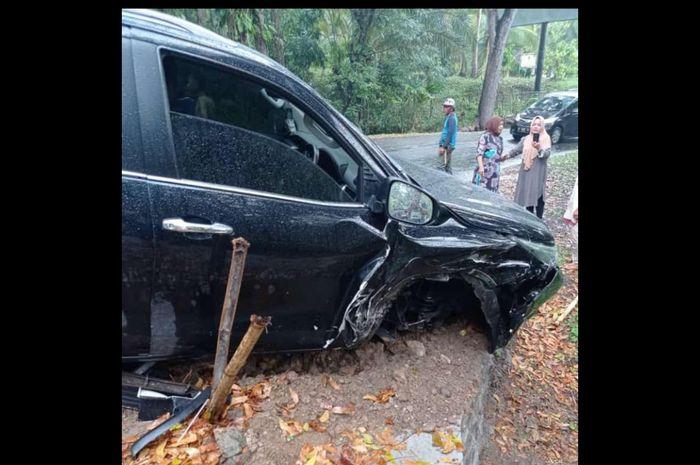 Airbag Toyota Fortuner Tidak Mengembang Setelah Mengalami Tabrakan di Garut, Jawa Barat