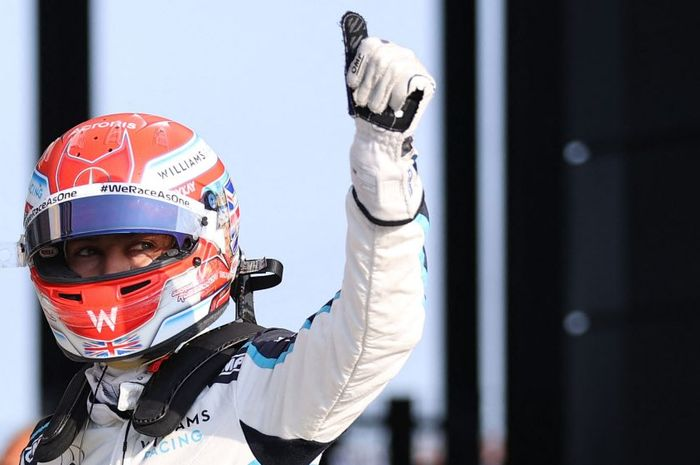 George Russell akan start untuk Sprint Race F1 Inggris dari posisi ke-8. Torehan terbaik Williams Racing dalam lima tahun terakhr.