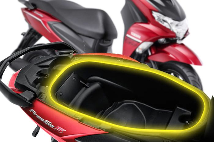 Bagasi Yamaha Freego 125