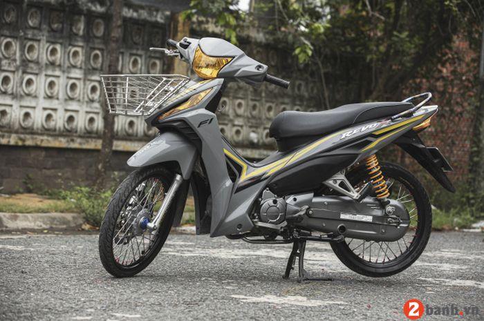 Modifikasi Honda Revo X