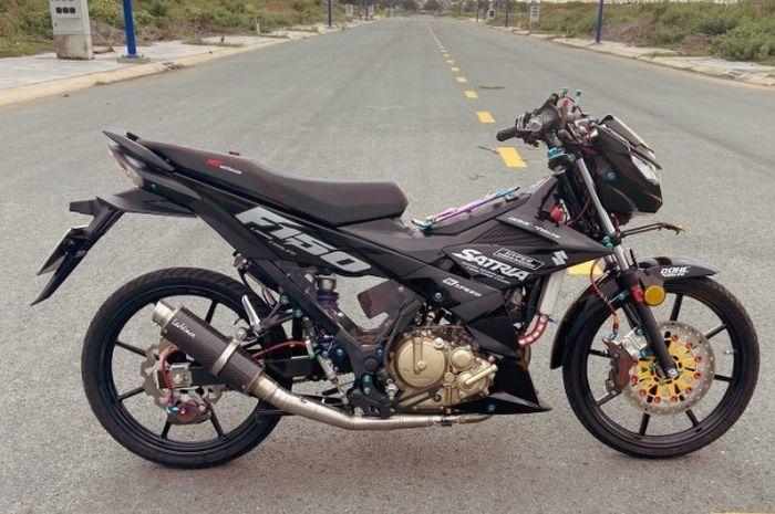 Modifikasi Suzuki Satria F150