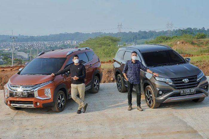 Mitsubishi Xpander Cross VS Toyota Rush, Lebih Lega Mana Akomodasinya?
