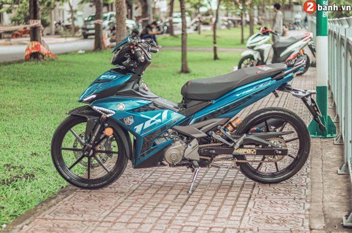 Modifikasi elegan Yamaha MX King 150