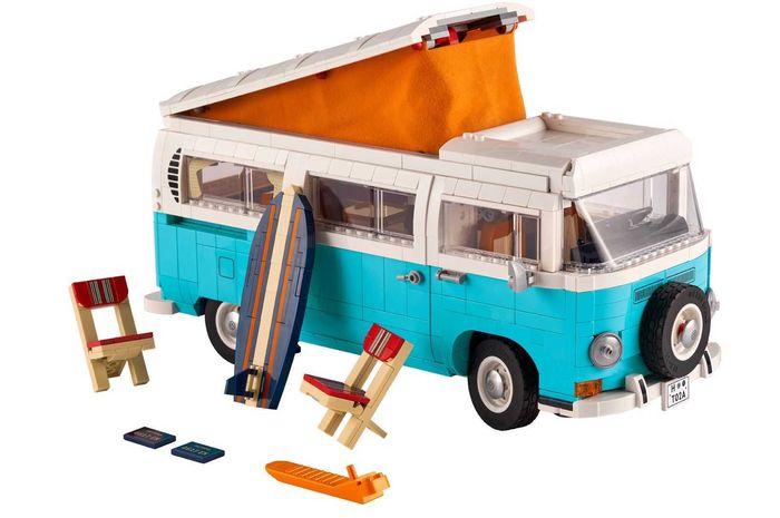 Lego VW Kombi T2 Camper Van