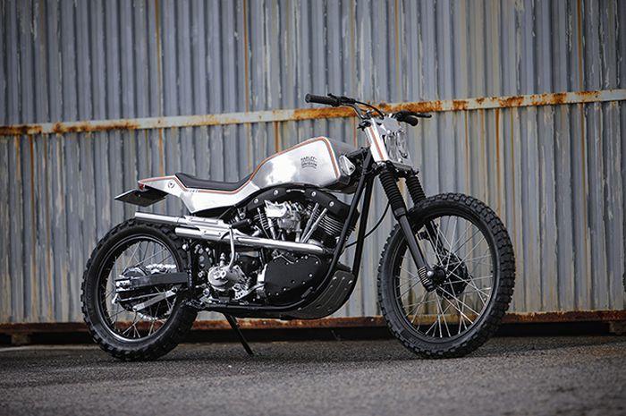 Harley-Davidson Shovelhead scrambler