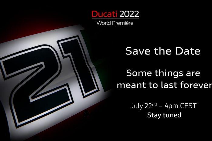 Ducati meluncurkan motor baru malam ini, Panigale V4 edisi khusus Troy Bayliss?